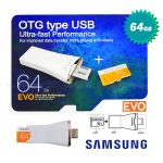Samsung micro SDXC UHS-I Card OTG 64GB on the go type USB OTG & USB & Card 3 in 1 (CV-OE064GA00)