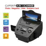 4-IN-1 Combo 14MP Photo / Film / Slide / Business card Scanner