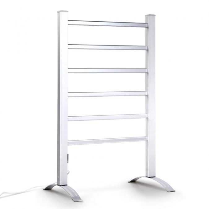 6 Rung Electric Heated Towel Rail