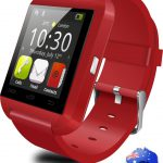 U8 Bluetooth Smart Watch For IOS And Android - Red